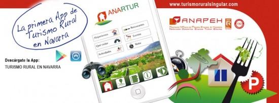 Primera aplicación móvil de turismo rural en Navarra