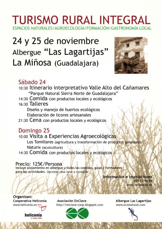 Jornada de turismo rural integral en La Miñosa en la provincia de Guadalajara