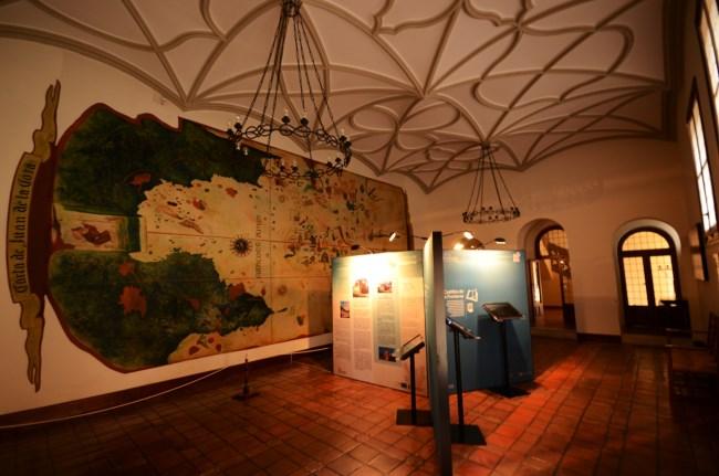 Interior castillo de la Mota