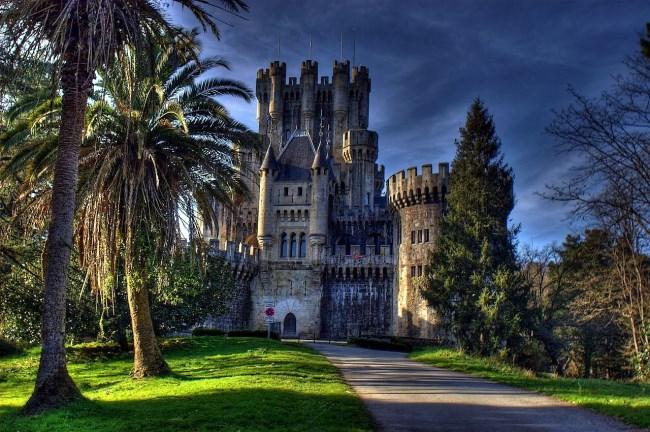castillo de butron Bilbao