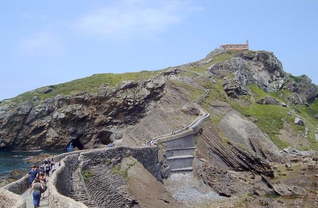 Ermita san juan de Gaztelugatxe
