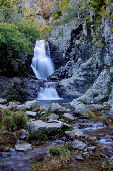 Ruta de la cascada del purgatorio en rascafria for Piscinas naturales rascafria