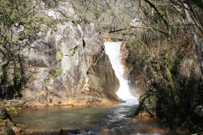 Cascada Salto das Pombas