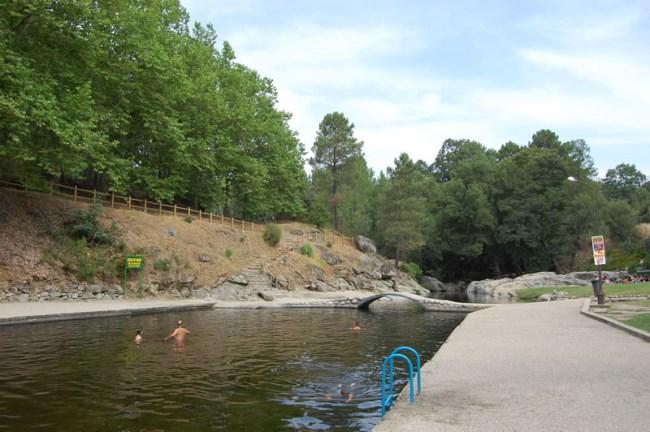 seis piscinas naturales en vila