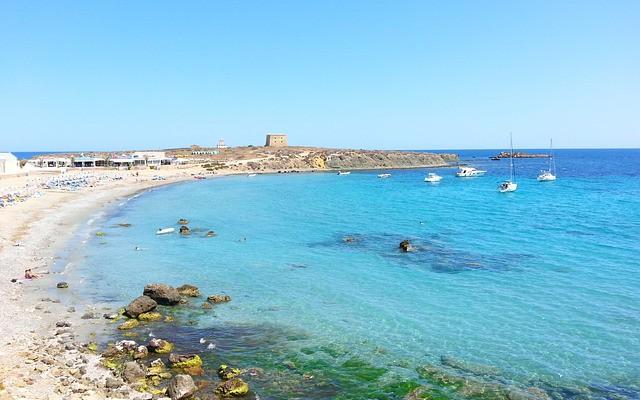 Isla Tabarca en la provincia de Alicante