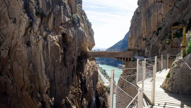 puente colgante caminito del rey