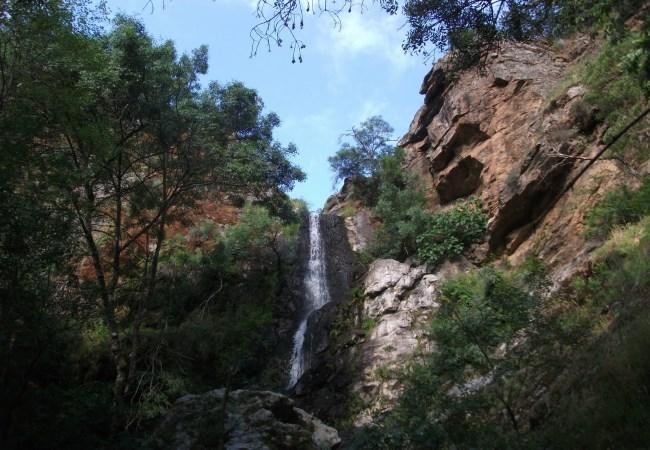 Cascada de Los Lirios