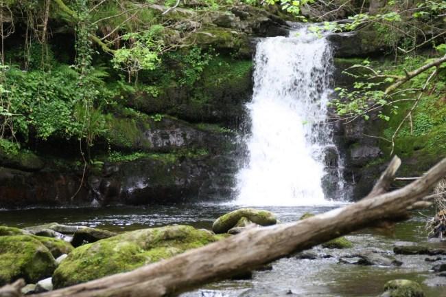 cascadas del río aján