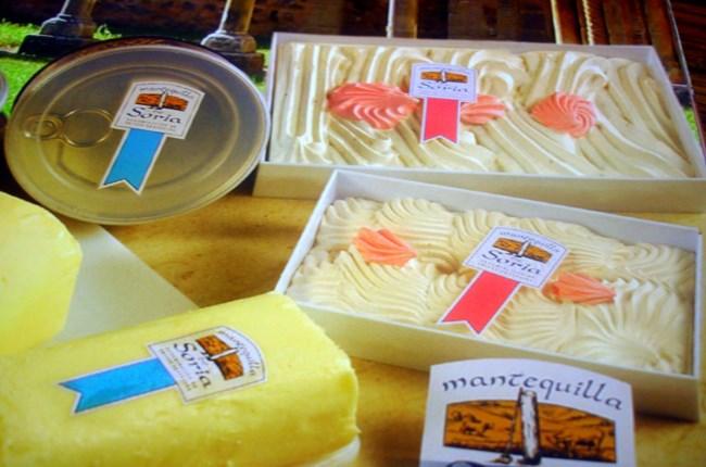 mantequilla soria