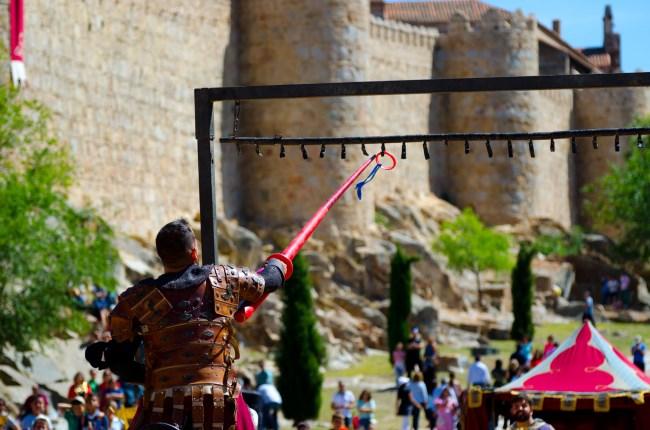anillas lanza torneo medieval