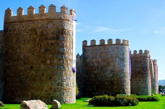 muralla avila medieval