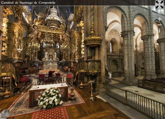 Altar de la Catedral de Santiago en 360º