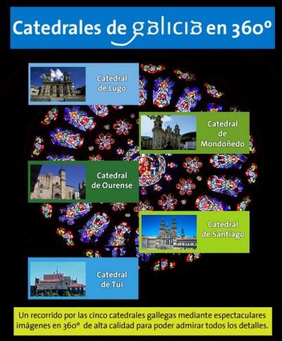 Catedrales de Galicia en 360º
