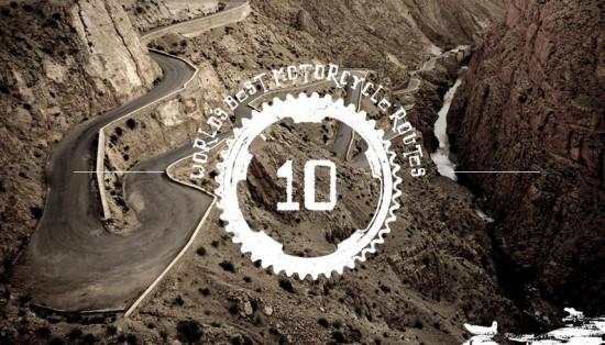 Las mejores rutas en moto del mundo