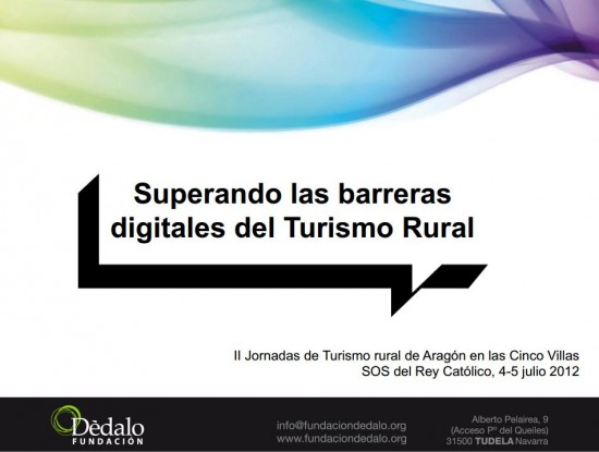 Superando las barreras digitales del turismo rural