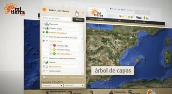 Aplicación MiTierra Maps de la Fundación Félix Rodríguez de la Fuente para conocer el medio rural