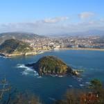 Isla de Santa Clara, de turismo por San Sebastián