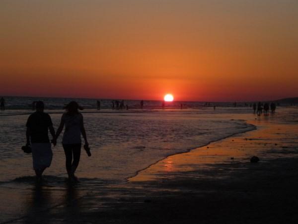 puesta de sol matalascañas