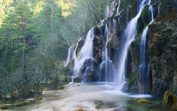 cascada del rio cuervo