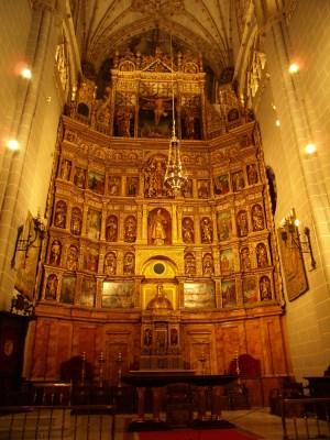 catedral palencia retablo mayor
