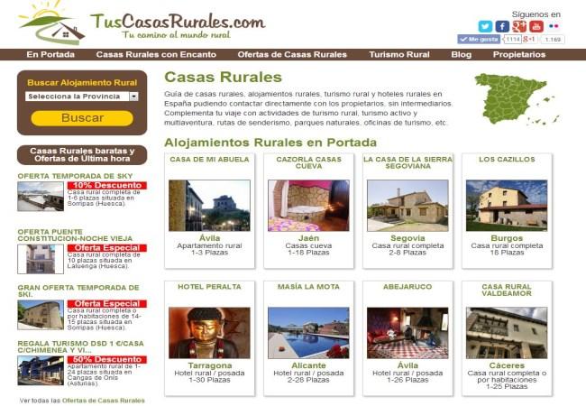 Tuscasasrurales nueva versión