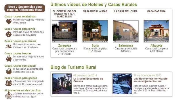 videos casas rurales