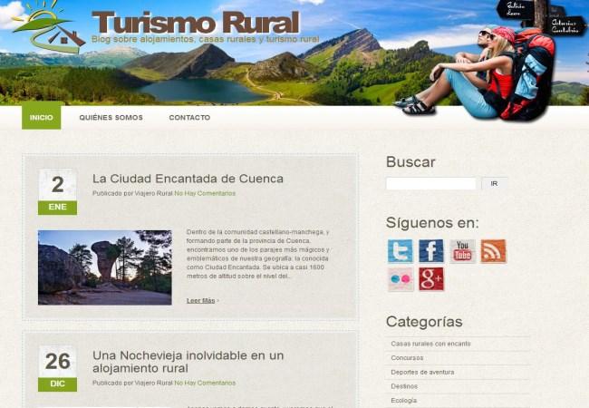 Blog Turismo rural