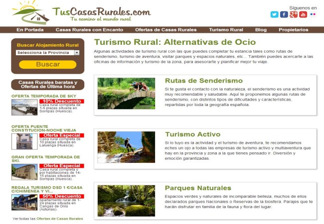 Tuscasasrurales turismo rural
