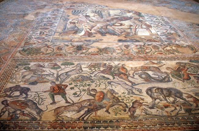 Mosaico La Olmeda