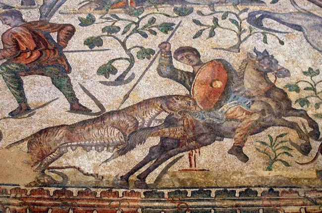 Mosaico Olmeda palencia