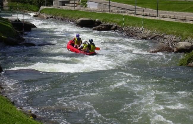 rafting parc del segre