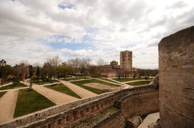 Parque castillo zamora
