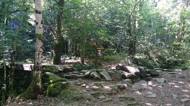 Cruce de Busqueimado y Cascada de la Seimeria
