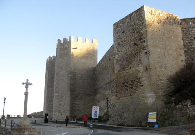 Muralla Castillo Morella