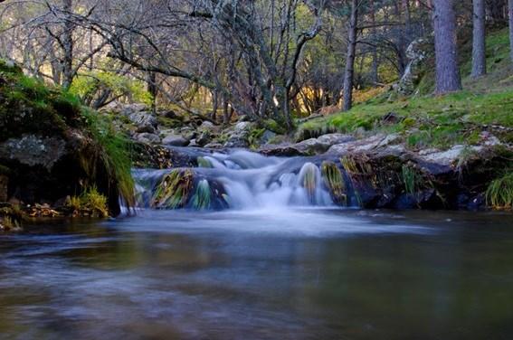 rio ruta cascada purgatorio