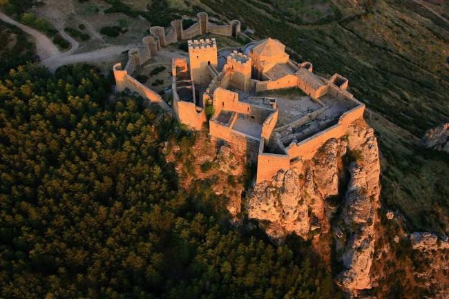 Vista aerea Castillo Loarre