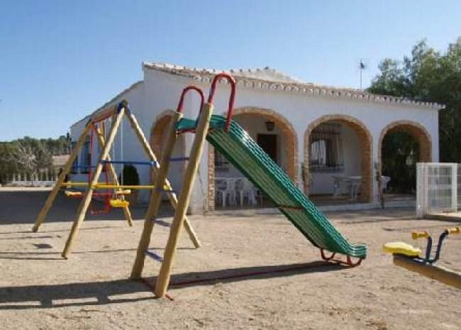 casa rural parque infantil moratalla