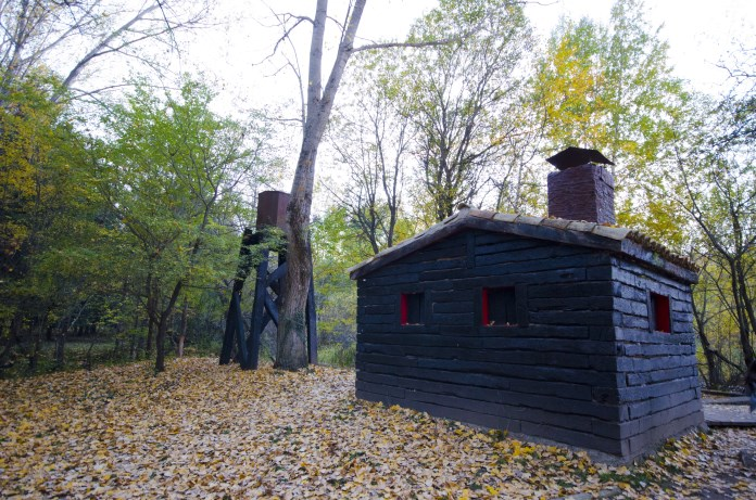 sauna Bosque Finlandes