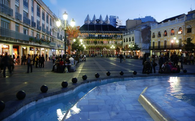 La plaza Mayor de Ciudad Real