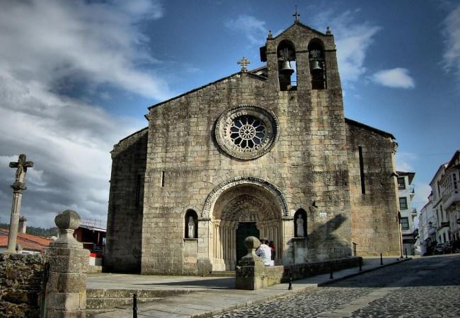 Iglesia Betanzos Santa Maria de Azogue