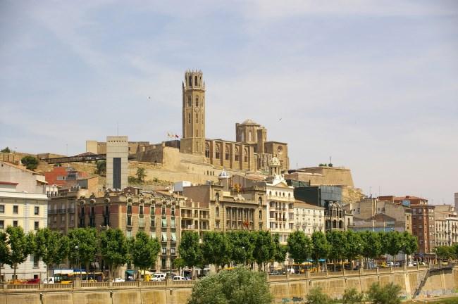 la Seu Vella y castillo del Rey
