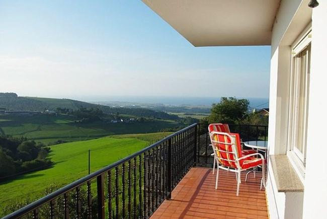 casa rural vistas mar asturias