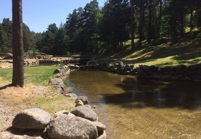 Piscinas naturales en segovia for Navafria piscinas naturales