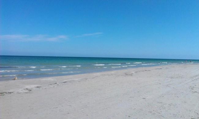 playa de la llana murcia