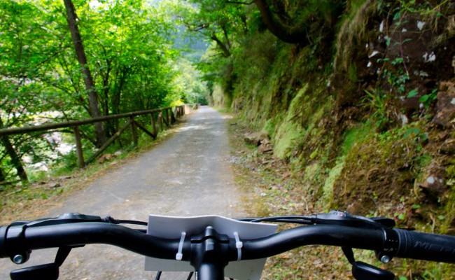 senda del oso en bici