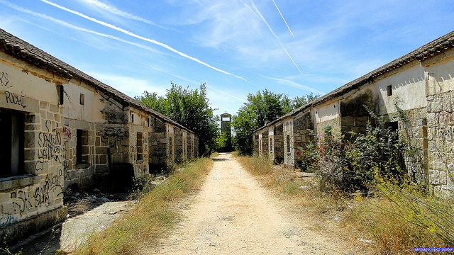 El alamin pueblo abandonado