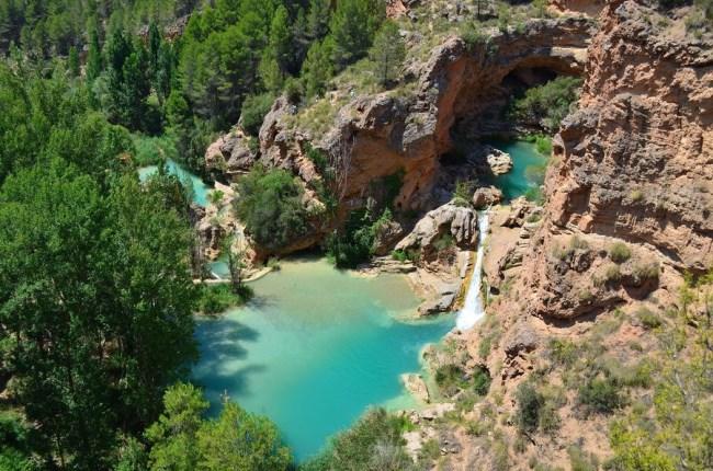 Cascadas en Cuenca