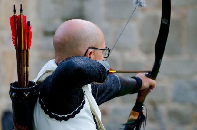 arquero medieval abulense