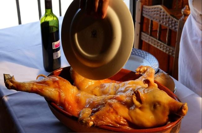 plato típico segovia