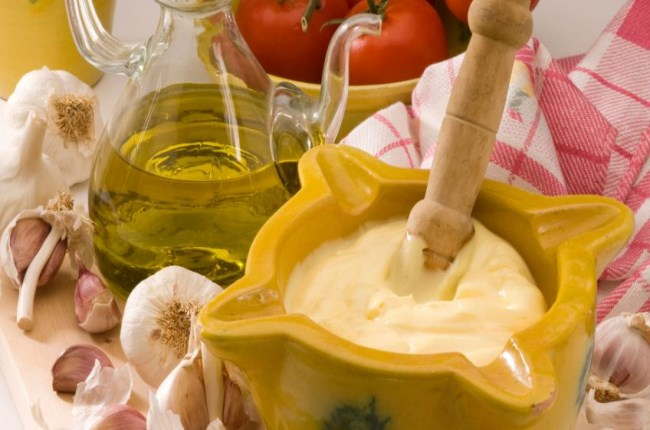 salsa alioli